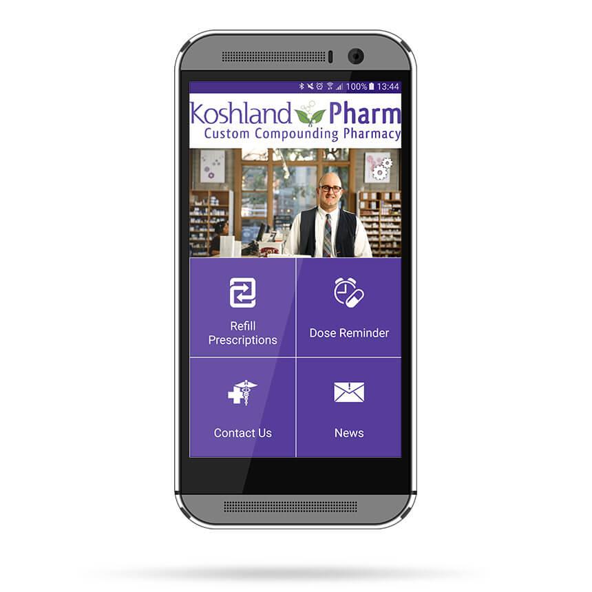 Koshland Pharm Google App