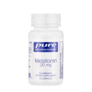 Melatonin 20mg by Pure Encapsulations