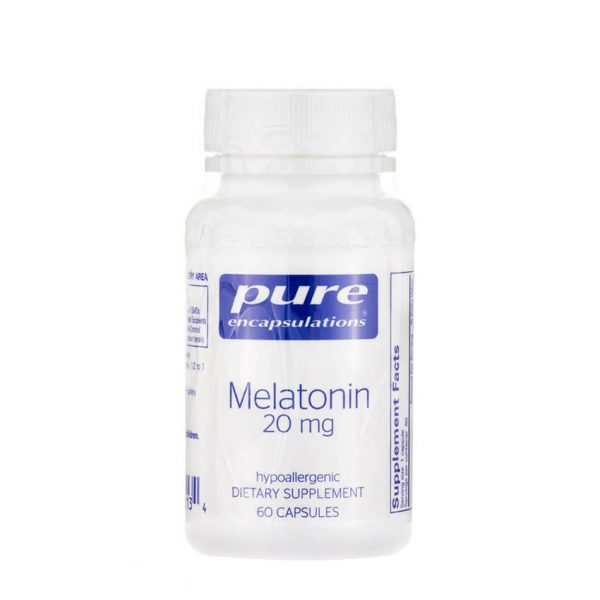Melatonin 20mg by Pure Encapsulations
