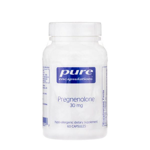 Pregnenolone 30mg by Pure Encapsulations