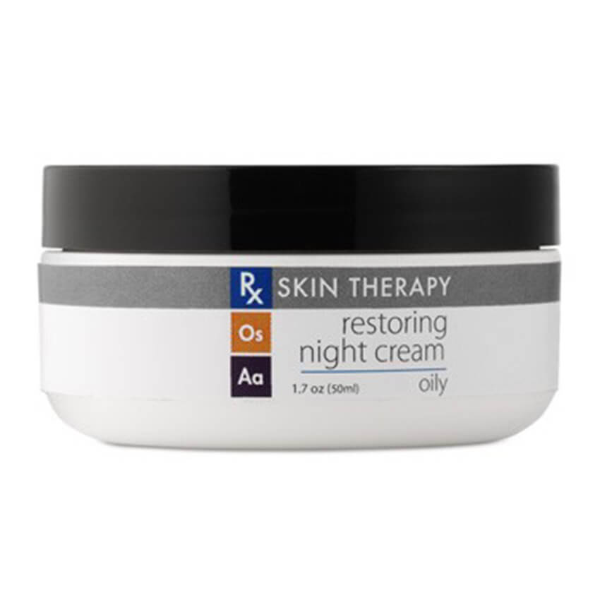 Restoring Night Cream Oily Skin by RX Skin Therapy