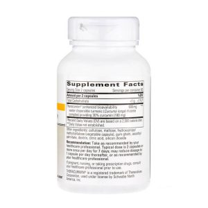 Theracurmin HP Supplement Facts