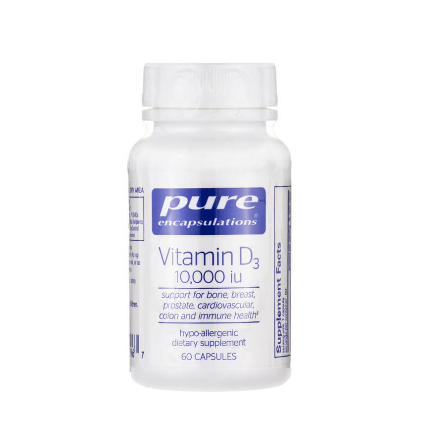 Vitamin D3 10000IU by Pure Encapsulations