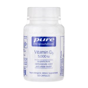 Vitamin D3 5000IU by Pure Encapsulations